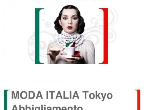 MODA ITALIA Tokyo, 5-6 Feb.